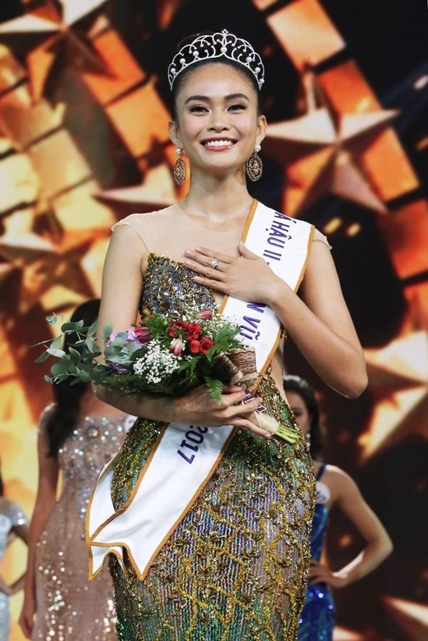 Top 3 Hoa hậu Hoàn vũ Việt Nam 2017 e