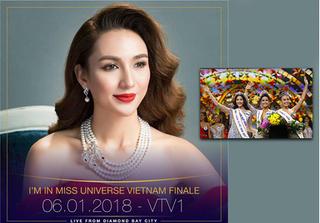Hoa hậu Ngọc Diễm nhận xét gì về Top 3 Hoa hậu Hoàn vũ Việt Nam 2017?