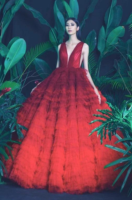 Cao Ngân siêu gầy tăng cân để đi thi Hoa hậu Hoàn vũ