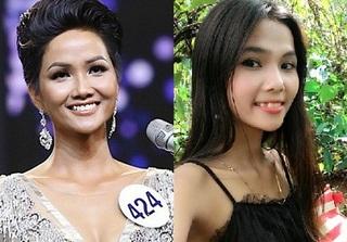 Bất ngờ với nhan sắc của em gái tân Hoa hậu Hoàn vũ H'Hen Niê