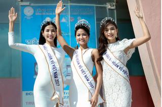 Top 3 Hoa hậu Hoàn vũ Việt Nam - Khoảnh khắc đẹp mê hồn