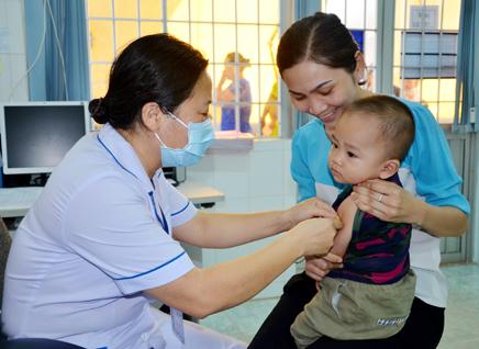 bệnh thủy đậu phòng ngừa bằng tiêm vacxin
