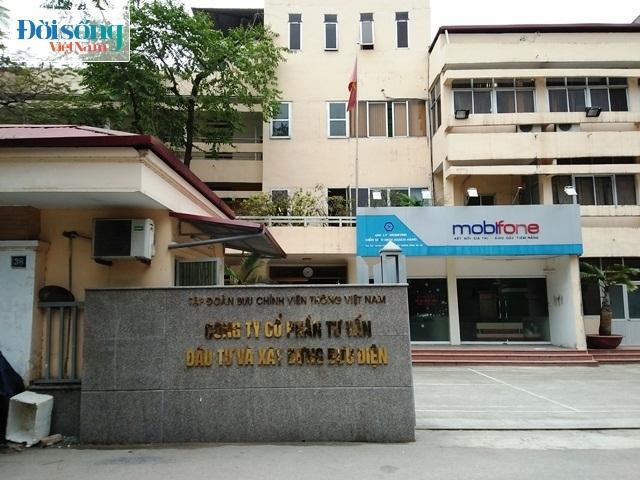 Công ty CP Tư vấn Đầu tư và Xây dựng Bưu điện xây dựng kiốt trái phép
