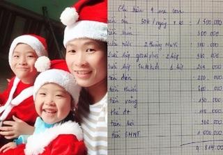 Bà mẹ 3 con chi 50.000 tiền ăn mỗi ngày: