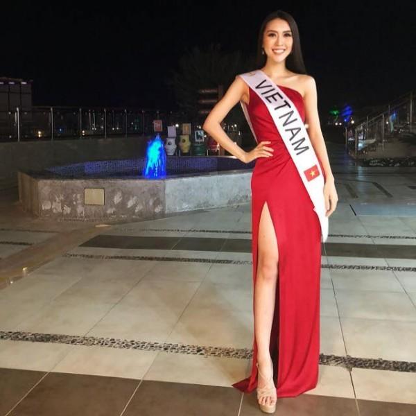 Những hình ảnh đầu tiên của Tường Linh tại cuộc thi Hoa hậu Liên lục địa 2017 7
