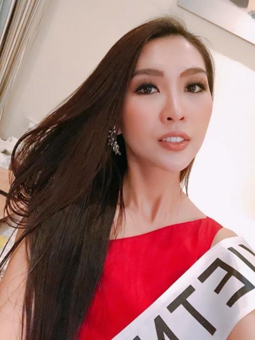 Những hình ảnh đầu tiên của Tường Linh tại cuộc thi Hoa hậu Liên lục địa 2017 3
