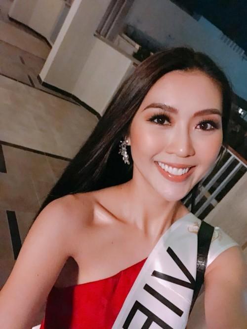 Những hình ảnh đầu tiên của Tường Linh tại cuộc thi Hoa hậu Liên lục địa 2017 4