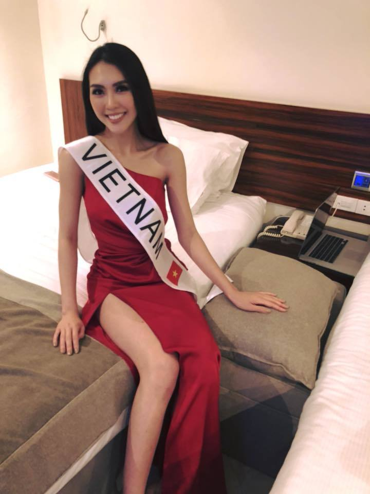 Những hình ảnh đầu tiên của Tường Linh tại cuộc thi Hoa hậu Liên lục địa 2017 6
