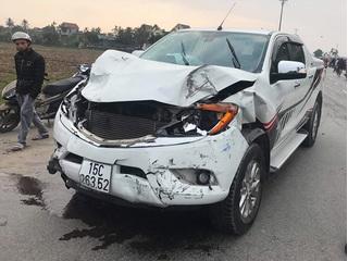Hải Phòng: Tạm giữ tài xế bán tải tông chết hai nữ sinh lớp 9 rồi bỏ chạy