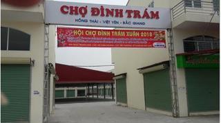 Bắc Giang: Mượn danh xây chợ nhưng thực chất là bán nhà trái phép?
