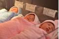 Sản phụ sinh ba con đẹp như thiên thần bằng phương pháp tự nhiên