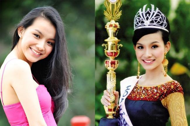 Hoa hậu Hoàn vũ Việt Nam Thuỳ Dung Phạm Hương 1