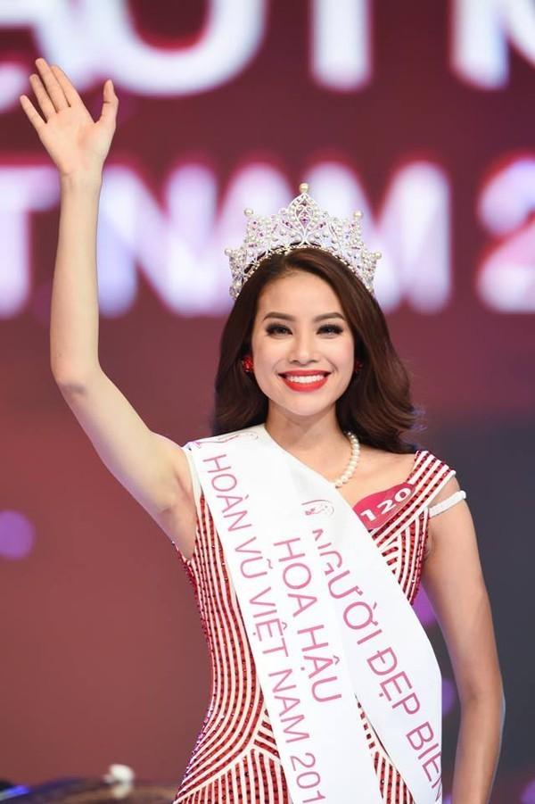 Hoa hậu Hoàn vũ Việt Nam Thuỳ Dung Phạm Hương 3