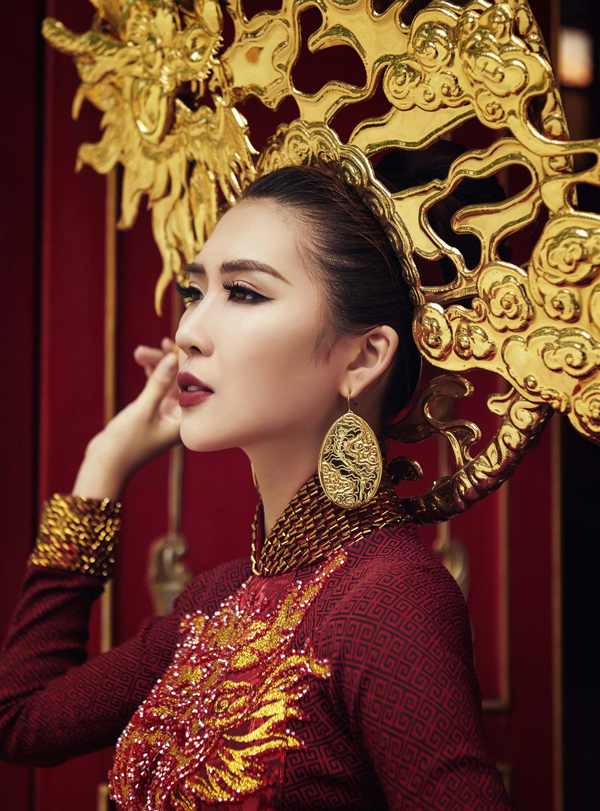 Hé lộ trang phục truyền thống của Tường Linh tại Hoa hậu Liên lục địa 7