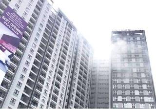 Cháy lớn ở tòa nhà cao nhất Hải Phòng