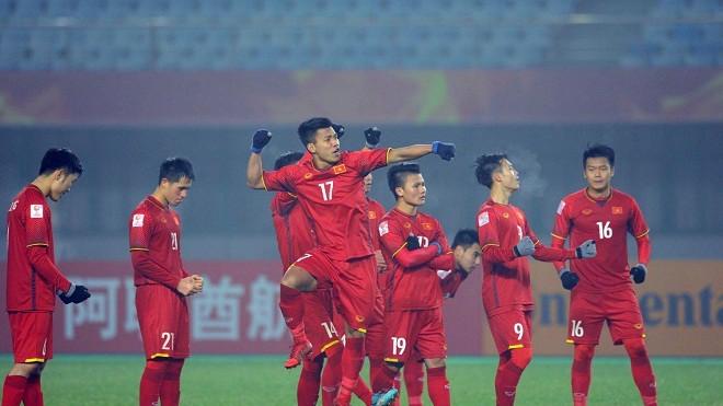 U23 Việt Nam thi đấu thăng hoa tại vòng chung kết U23 châu Á