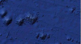 Google Earth phát hiện vật khổng lồ dưới biển Thái Bình Dương