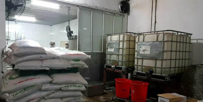 Cơ sở sản xuất nước ngọt Tân Tiến Phát gây ô nhiễm
