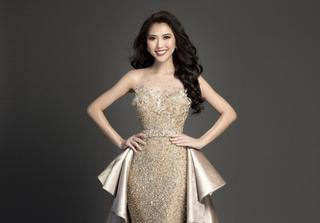 Lộ trang phục dạ hội của Tường Linh trước chung kết Hoa hậu Liên lục địa 2017