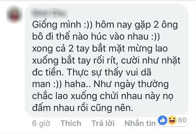 Ăn mừng U23 Việt Nam vào chung kết, đâm ô tô cũng xuống bắt tay