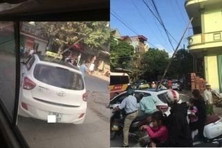 Triệu tập nhóm công nhân để thanh sắt rơi trúng đầu khiến người đàn ông đang ngồi trên taxi tử vong