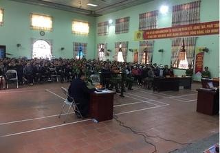 Nữ bị cáo sát hại chủ nhiệm HTX ở Bắc Ninh lạnh lùng trả lời tại tòa