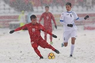 CĐV quốc tế xót xa khi thấy U23 Việt Nam phải thi đấu trong mưa tuyết