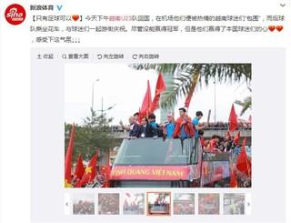 Kinh ngạc vì NHM Việt Nam quây kín chào đón U23 VN trở về