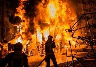 Vĩnh Phúc: Cháy lớn trong đêm, 3 người thương vong