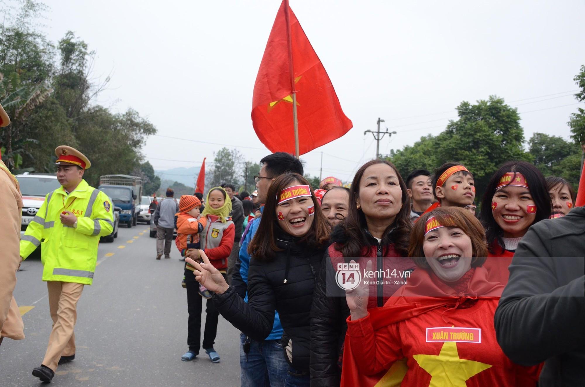 đón Lương Xuân Trường về Tuyên Quang