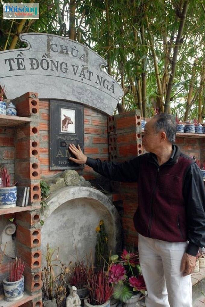 Ghé thăm nghĩa trang vật nuôi độc nhất vô nhị giữa Hà Nội 19