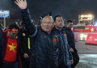 NÓNG: HLV Park Hang-seo lên Phố núi cảm ơn bầu Đức sau kỳ tích U23 Việt Nam