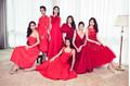Dàn mỹ nhân Hoa hậu Hoàn vũ lộng lẫy sắc đỏ bên Hoa hậu Dayana Mendoza