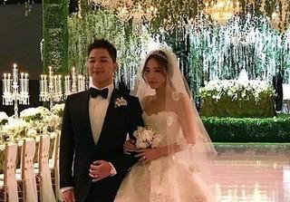 Choáng với chiếc váy cưới giá khủng của bà xã Taeyang (Big Bang)