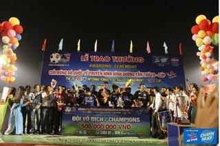 B.Bình Dương vô địch Giải Bóng đá TH Bình Dương Cúp Number 1 thứ 18