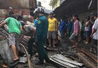 Cháy chợ kinh hoàng ở Cà Mau, hai vợ chồng tử vong dịp cận Tết