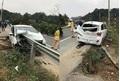 Rùng mình hình ảnh ô tô tai nạn bị thanh chắn đường xuyên thủng từ trước ra sau