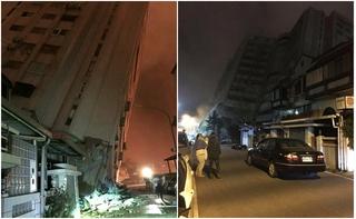 Động đất 6,4 độ richter ở Đài Loan, hàng trăm người thương vong
