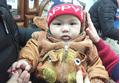 Hạnh phúc ngập tràn trong gia đình bé trai sơ sinh nặng 7,1kg ở Vĩnh Phúc