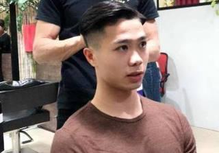Công Phượng điển trai trong kiểu tóc mới khiến fan ngất ngây