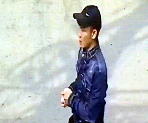 Camera ghi hình nghi phạm sát hại cô gái trong tiệm thuốc tây