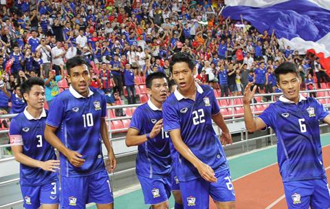 Đội tuyển Thái Lan sẽ thi đấu tại King' Cup vào tuần tới