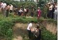 Hải Dương: Phát hiện người đàn ông tử vong dưới mương nước