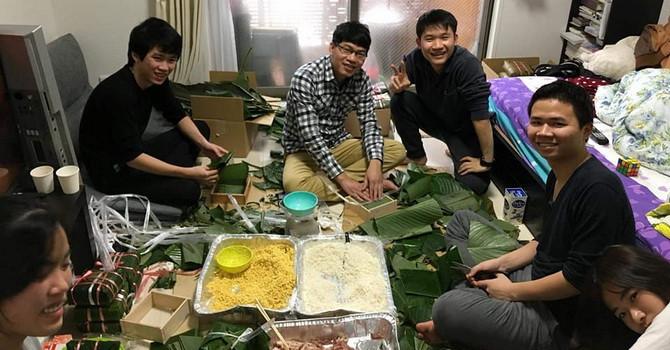 Giá bánh chưng Việt Nam ở Nhật lên đến 500 nghìn đồng