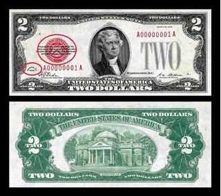 Vì sao tờ 2 đô la được săn lùng làm tiền mừng tuổi dịp Tết?