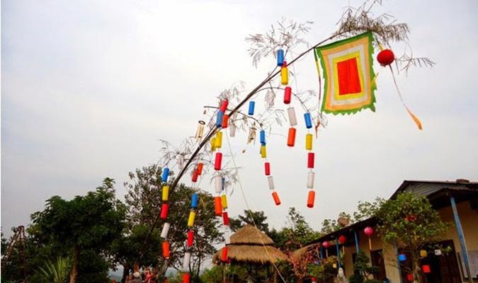 Tục treo cây nêu trong dịp Tết là một phong tục có từ lâu
