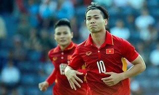 Thống kê sốc về cặp tiền đạo của U23 Việt Nam Công Phượng, Quang Hải