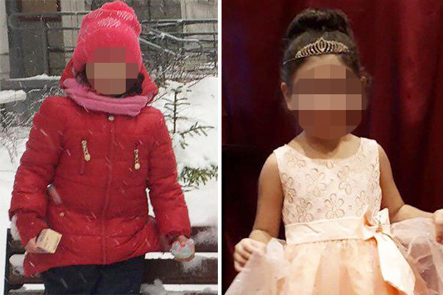 Chân dung bé gái 3 tuổi bị đóng băng tới chết. Ảnh: Internet