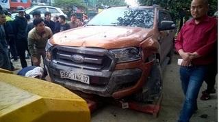 Đã xác minh được chủ xe bán tải gây tai nạn liên hoàn ở Thanh Hóa