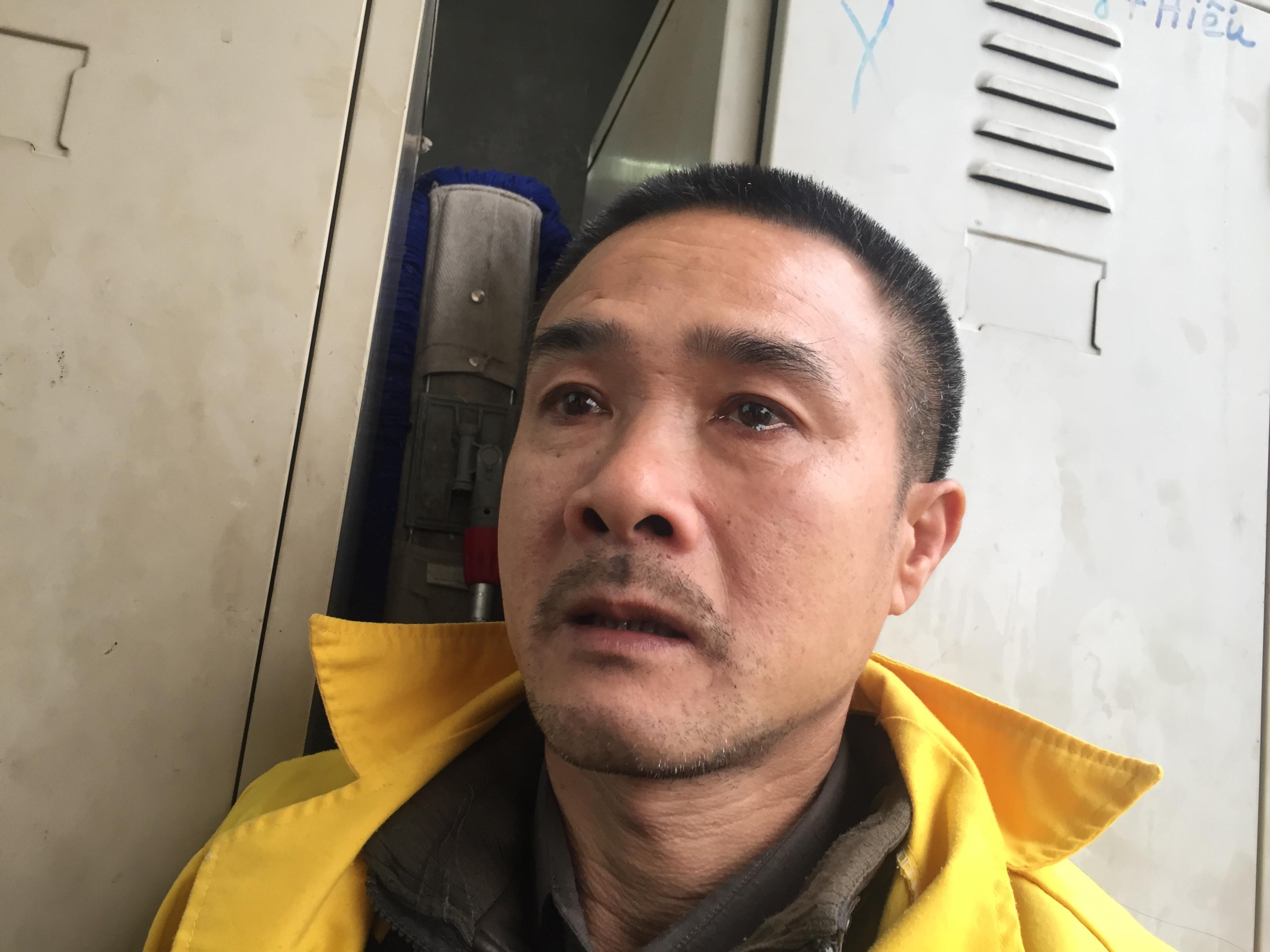 Anh Hòa chia sẻ vợ anh tử vong sau nhiều ngày cấp cứu